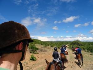 riding at Sosian