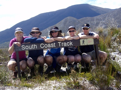 South Coast Track – Tasmania