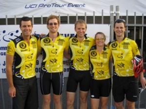 Mark, Pete, Marcus, Jude and Jon
