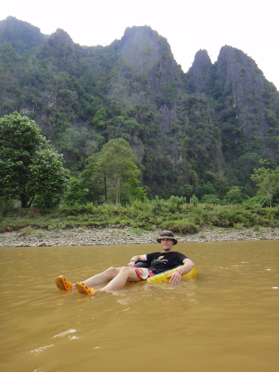 tubing in Van Vieng