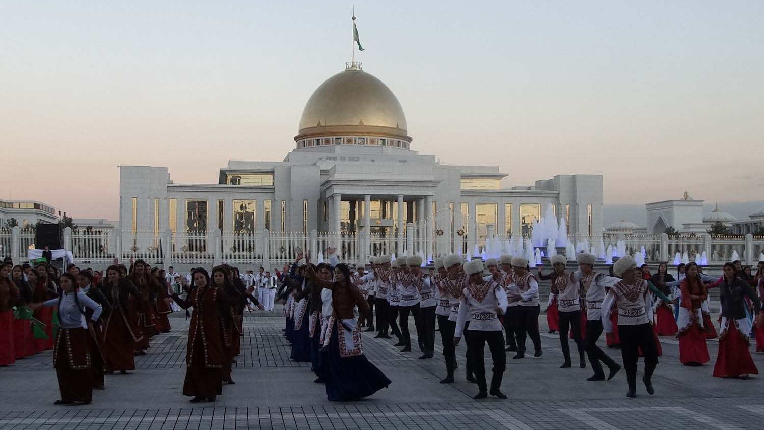 Turkmenistan independence day celebrations
