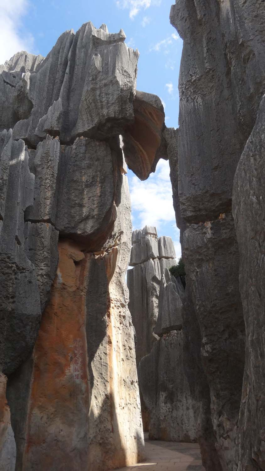 Stone Forest is a huge maze of cool karst formations