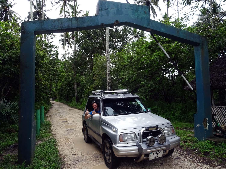 our little car on Zanzibar